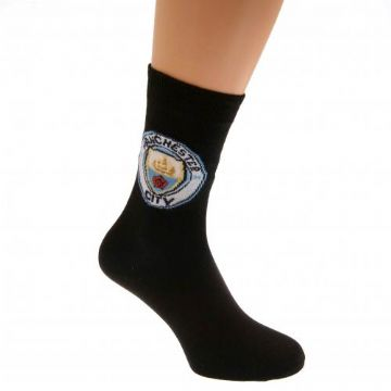 Manchester City Adult's Socks. Size - 6-11